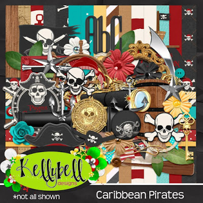 Caribbean Pirates - New from Kellybell Designs