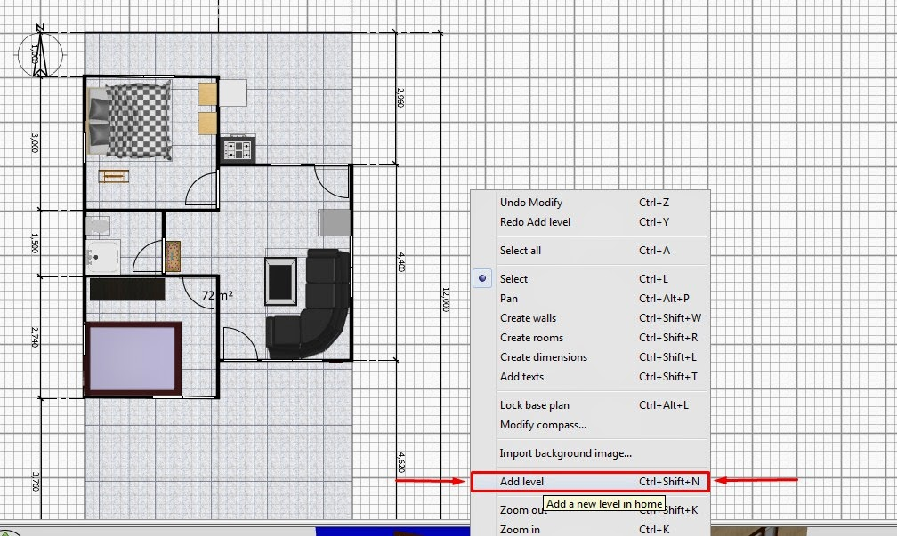 Cara Cara Membuat Atap Di Sweet Home 3d Lengkap Dengan Gambarnya