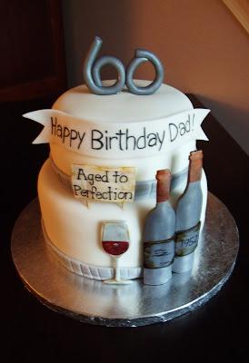 Frog Prince 60th Wine Birthday Cake