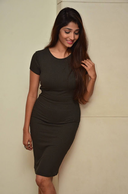 Priya Vadlamani Stills At Stone Media Films Pro No 1 Movie Announcement