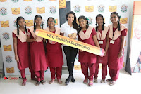 Actress Priya Anand with the Students of Shiksha Movement Event .COM 0024.jpg