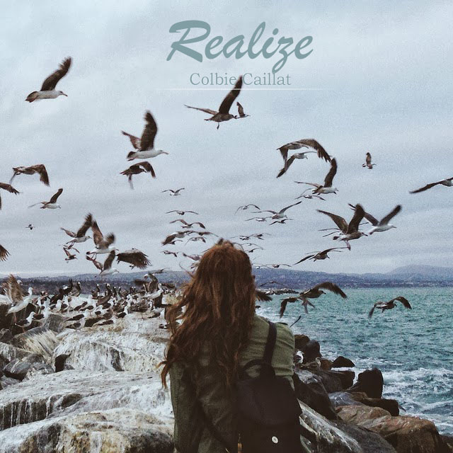 Realize by Colbie Caillat Notes Music Flute Girl with Birds
