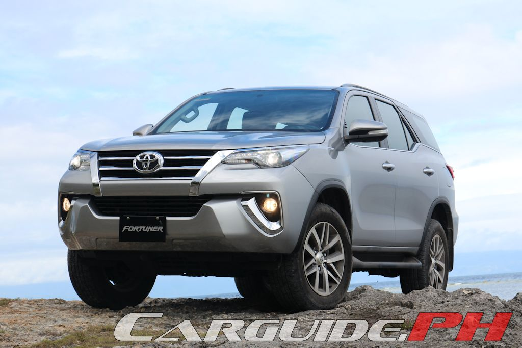 First Drive 2016 Toyota Fortuner 2 4 V And 2 4 G 4x2