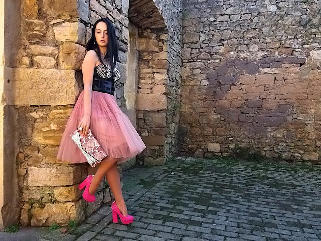fashion, moda, look, outfit, blog, blogger, walking, penny, lane, streetstyle, style, estilo, trendy, rock, boho, chic, cool, ropa, cloth, garment, inspiration, fashionblogger, art, photo, photograph, tulle, biker, asos,hym Avilés, asturias,