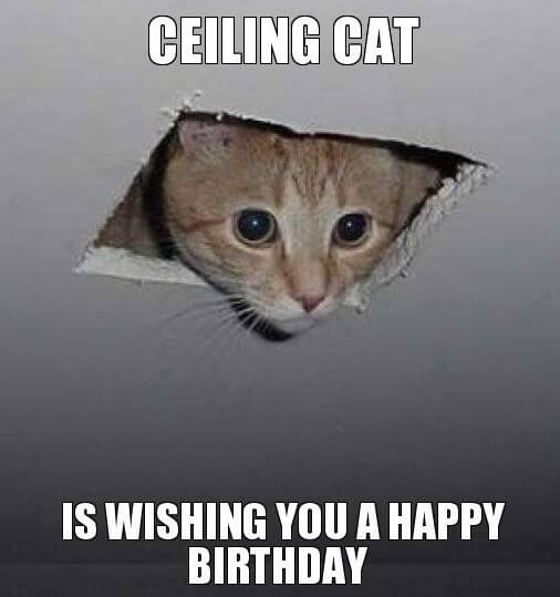 weird Happy Birthday Meme