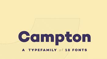 Günün Ücretsiz Fontu: Campton