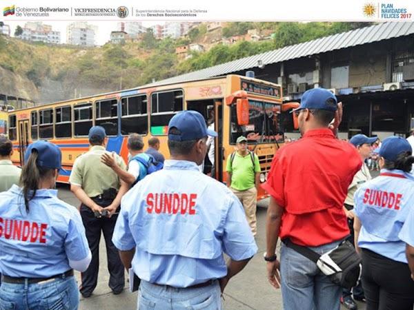 Arranca supervisión de SUNDEE en terminales terrestres en todo el territorio nacional