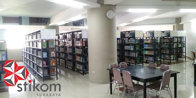 Sejuta Fasilitas Perpustakaan Stikom Surabaya