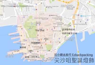 香港尖沙咀聖誕燈飾路線攻略2018