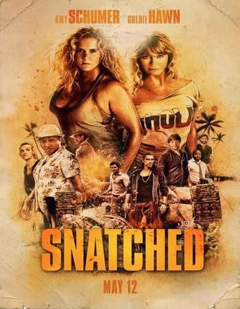 Snatched 2017 Dual Audio 720p BluRay ORG [Hindi – English] ESubs
