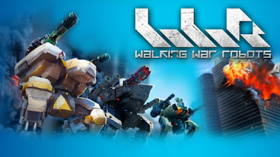Download Walking War Robots Mod v2.6.1 APK+Data Terbaru 2017 (Mega Mod)