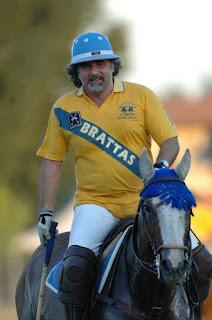 Marco Zoppi in tenuta da polo