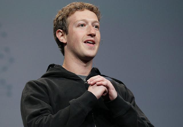 Mark Zuckerburg, the founder of Facebook