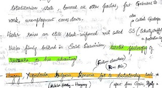 World History - Handwritten Notes for IAS Exam by Anudeep Shetty(AIR 1)