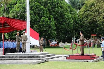Pemkab Lampung Barat Gelar Upacara Peringatan Hari Pahlawan Ke-73