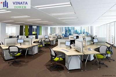 Thiết kế văn phòng Vinata Tower