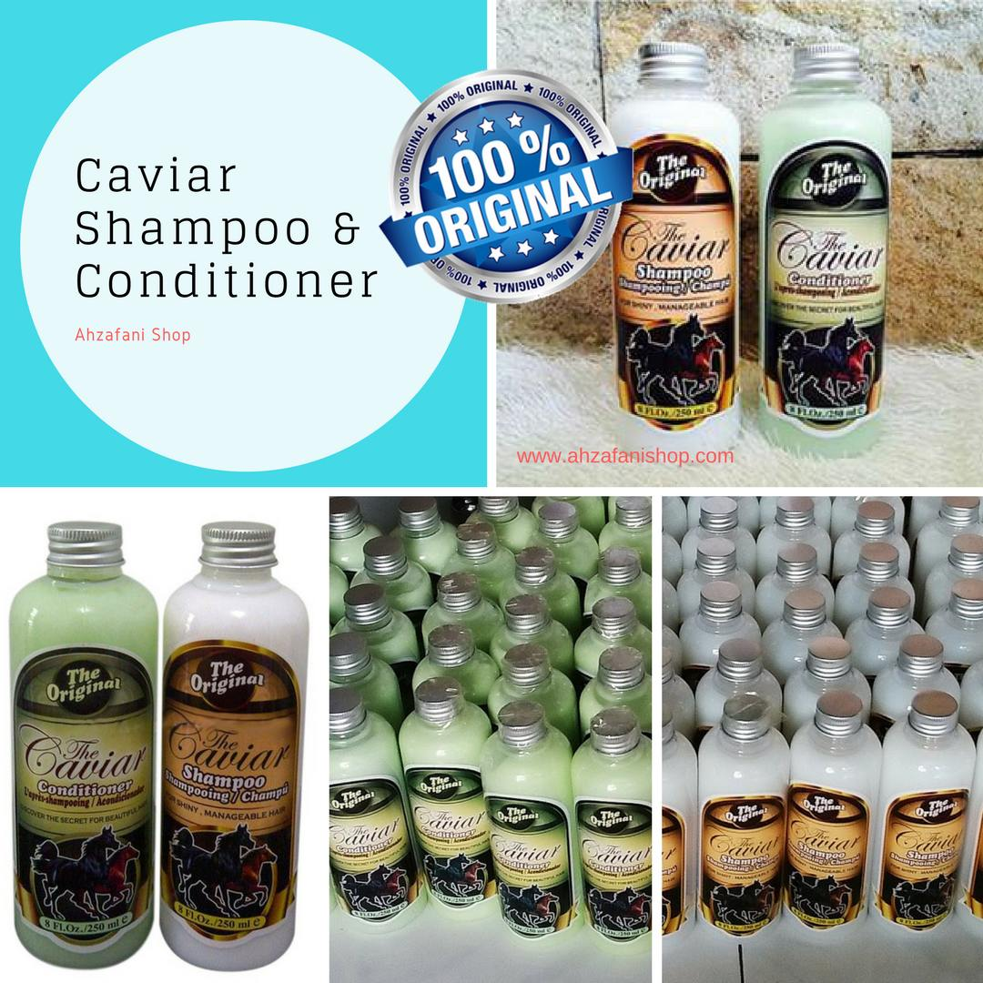 Paket Shampoo And Conditioner Caviar Original 2 Botol7 The Dan Selain Memiliki Keunggulan Cepat Dalam Mengatasi Ketombe Juga Sangatlah Aman Untuk Digunakan