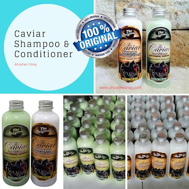 Caviar Shampoo dan Conditioner adalah Produk perawatan rambut yang sangat ampuh termasuk untuk menghilangkan ketombe dengan cepat dan hasil permanen