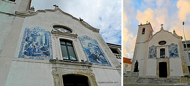 Fachada da Igreja de Nossa Senhora da Apresentação, Aveiro, Portugal