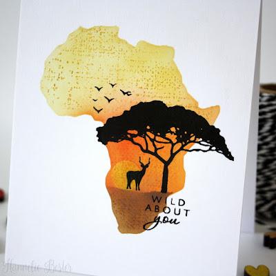 Hero arts : Safari Wild about you