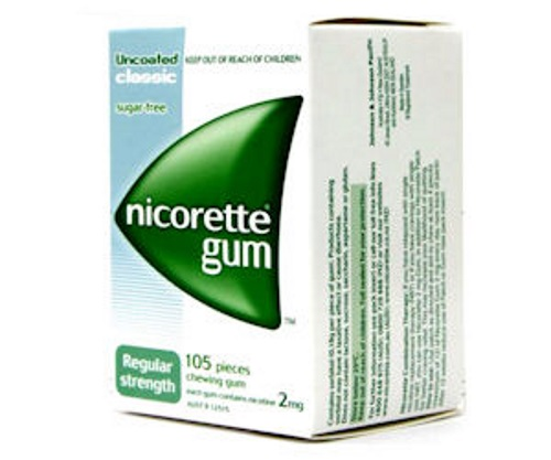 Smokers' Helpline Free Nicorette Gum Sample + $5 Coupon