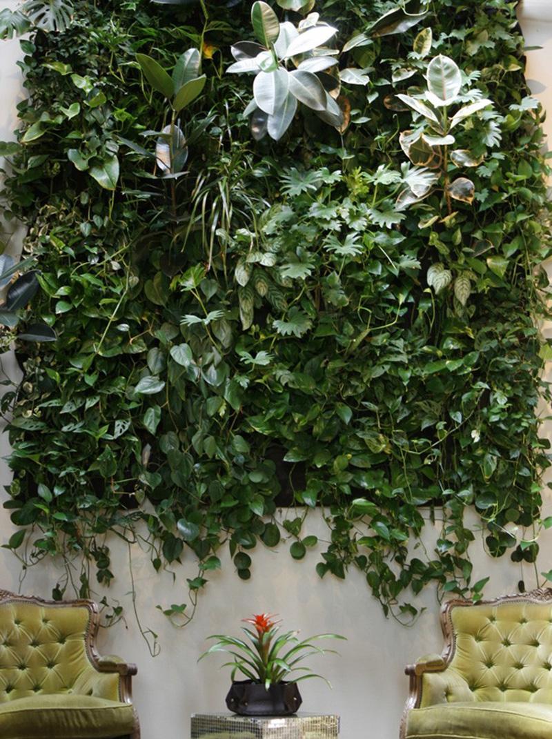 C mo crear un jard n vertical con woolly pocket maria - Como hacer un jardin ...