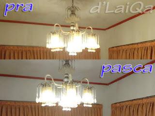 perbandingan nyala lampu