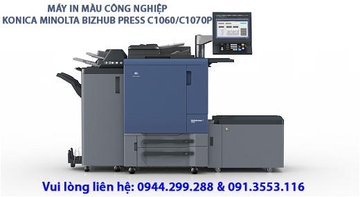 Phân phối máy in màu công nghiệp (máy in test offset) thay thế dòng Konica Minolta C6000/C7000