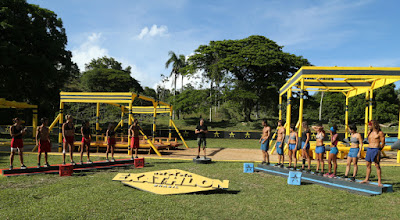 Competidores se enfrentam no circuito amarelo - Divulgação/Band