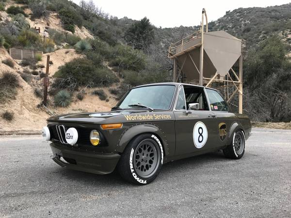 Modified Car, 1974 BMW 2002