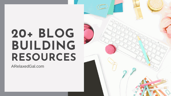 Start and build your blog or online business with this free list of 20+ blogging tools. | A Relaxed Gal