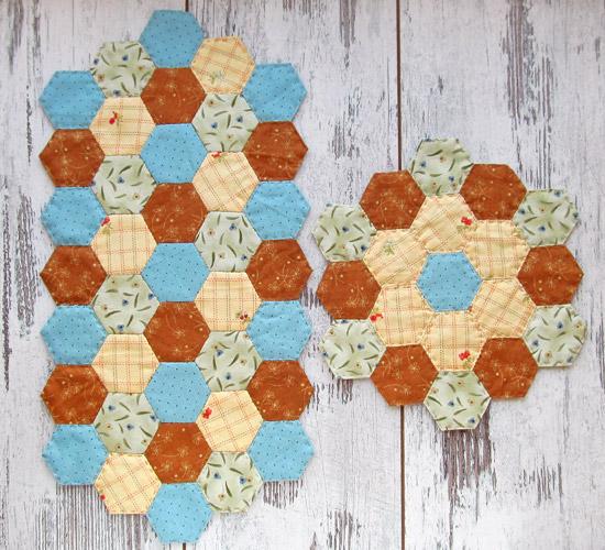 Hexagon, гексагоны, салфетки