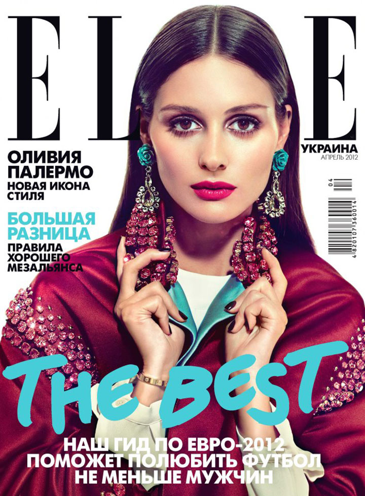 OLIVIA PALERMO for ELLE UKRAINE April 2012