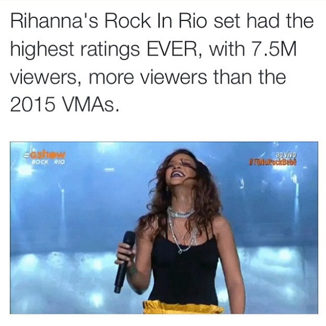 Rihanna brazil thank you