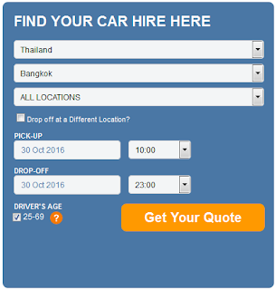 rent a car in bangkok without driver