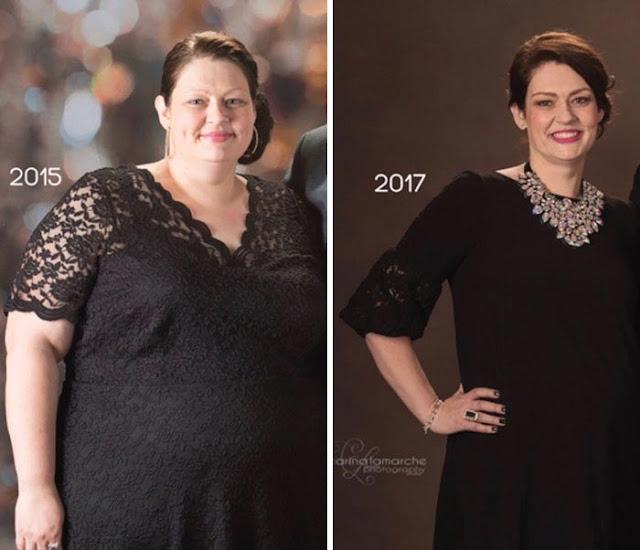 Эта женщина похудела на 68 кг за 2 года и вот 3 простые правила, которым она следовала