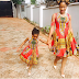 Kanu Nwanko's Wife , Amara And Her Daughter Wears Matching Outfit