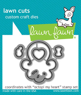 Lawn Fawn Octopi My Heart Lawn Cuts