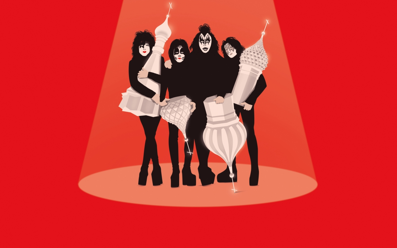 What Happened When Kiss Went to Moscow: Bullet-Proof Tents, Rivalries and Mating Rituals