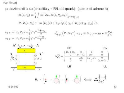 Studio correnti anomale chirali rispetto applicazioni universo primitivo