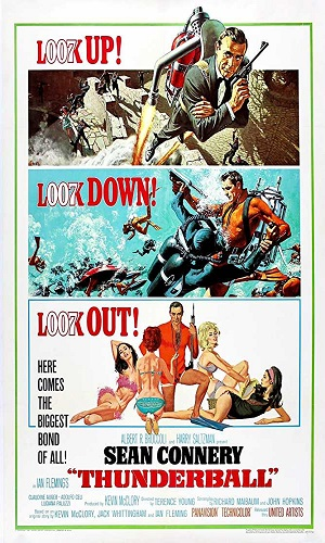 Thunderball (1965) Hindi Dual Audio 720p BRRip 1GB
