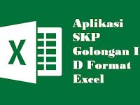 Aplikasi SKP Golongan III D Format Excel