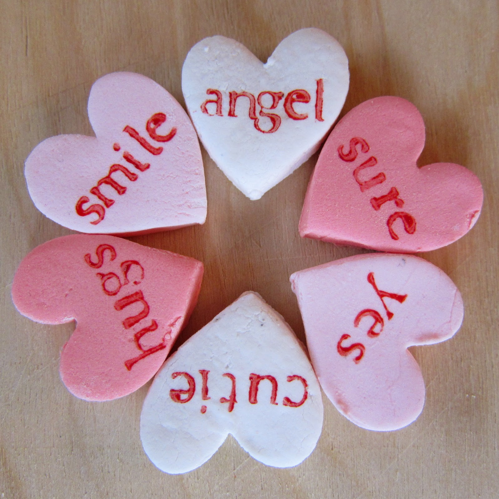 Clever Wren: Candy Hearts - Valentine Candy