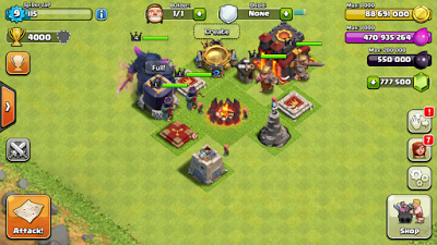 Android Game Application Download Game Clash Of Clans Mod Apk