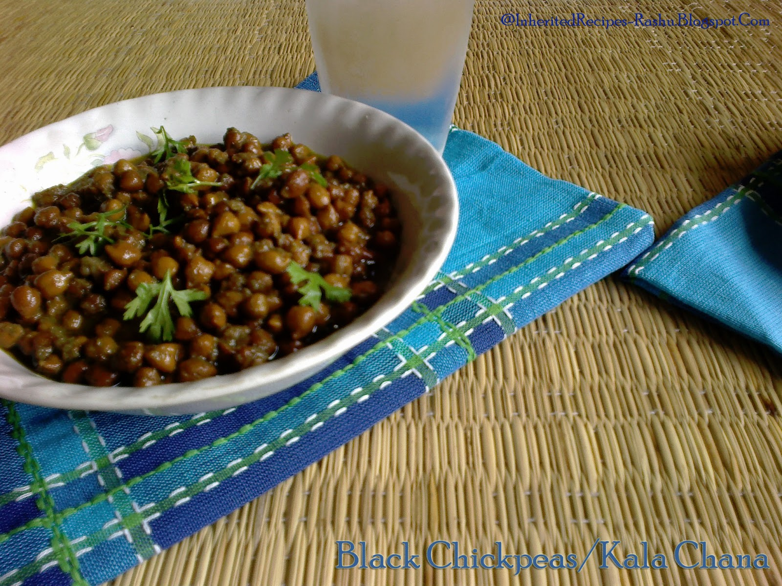 Inherited Recipes: Black Chickpeas/Bengal gram/Channa ...