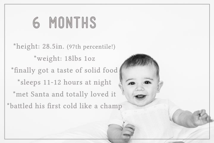 milestone baby portraits