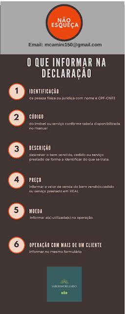 DECLARAÇÃO DE OPERAÇÕES LIQUIDADAS COM MOEDA EM ESPÉCIE - DME