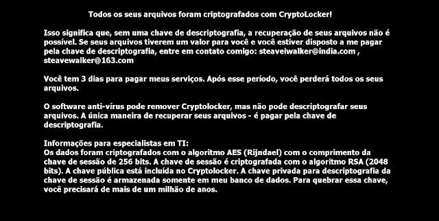 Cryptolocker Ransomware Ψάχνουμε λύση για αυτό τον Ιο Κρυπτογράφησης
