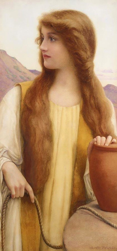 Henry Ryland - A Neo-Classical / Pre-Raphaelite British Painter