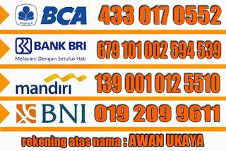 No rekening bank